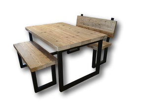 The Reclaimed Rustic Artisan Table Wax Finish - 65MM Solid Pine
