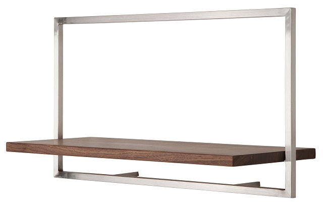 SHELFMATE American Walnut Stainless Steel - Style A (4444674818103)