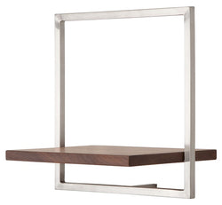SHELFMATE American Walnut Stainless Steel - Style B