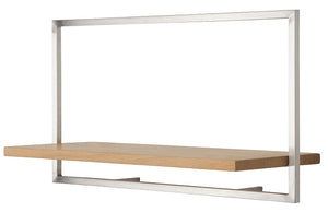 SHELFMATE European Oak Stainless Steel - Style A
