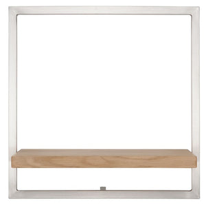 SHELFMATE European Oak Stainless Steel - Style B