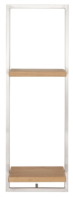 SHELFMATE European Oak Stainless Steel - Style D