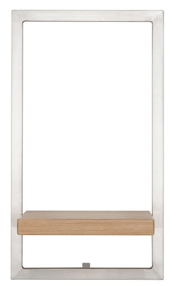 SHELFMATE European Oak Stainless Steel - Style E