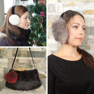 Recycled Fur Accessories
