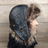 Aviator winter hat