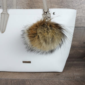 recycled fur pompom