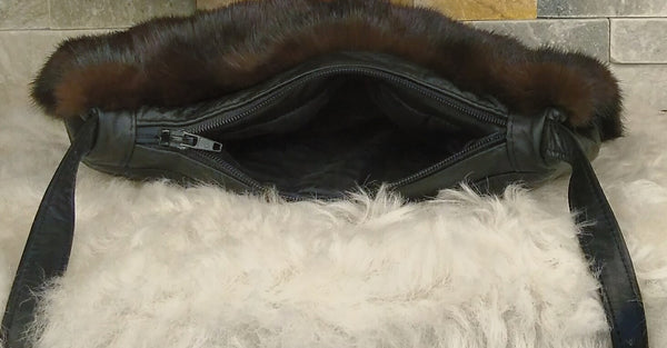 Fur Handbag - Muff, Mink Fur