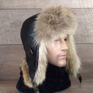 Men's fur hat