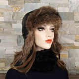 recycled fur hat
