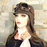 women's aviator hat