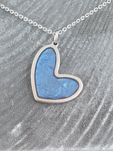Load image into Gallery viewer, Off set heart shaped pendant-necklaces
