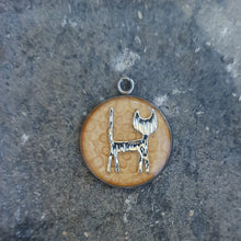 Load image into Gallery viewer, Cat pendant necklace