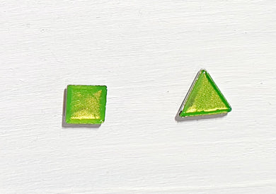 Mini triangle & square studs