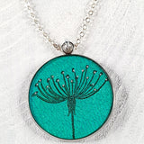 Cow Parsley pendants