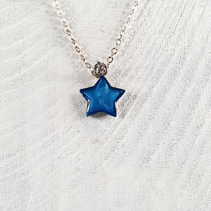 Star mini pendant-necklace