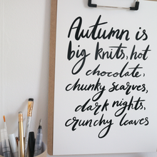 Autumn Love Print