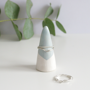 Green Ceramic Ring Cone