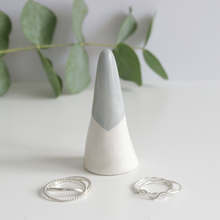 Grey Ceramic Ring Cone