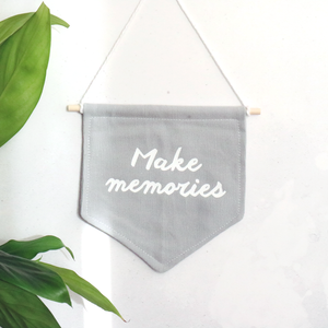 Make Memories Flag