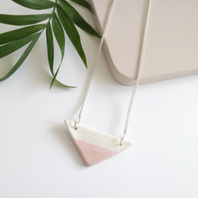 Pink Ceramic Necklace