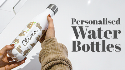 Personalised Water Bottles from Proworks