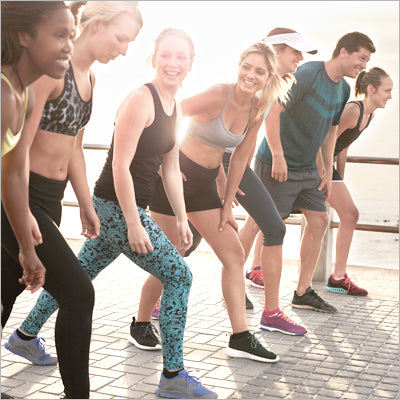 A Group of People Doing Cardio Exercises to Lose Belly Fat