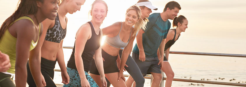 Group of People Ready to Exercise Together