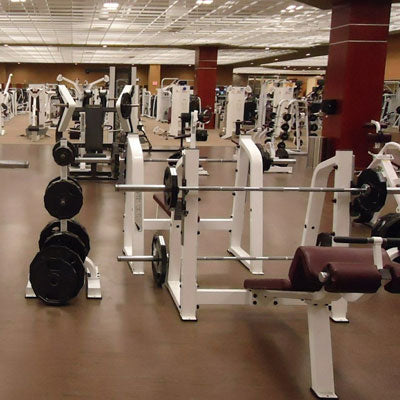 An Empty, Boring Gym