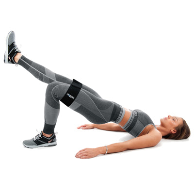 Girl Exercising with Proworks Glute Bands