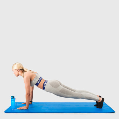 Yoga Pose: The Plank
