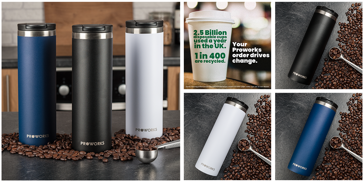 Proworks Bottles | Travel Mugs