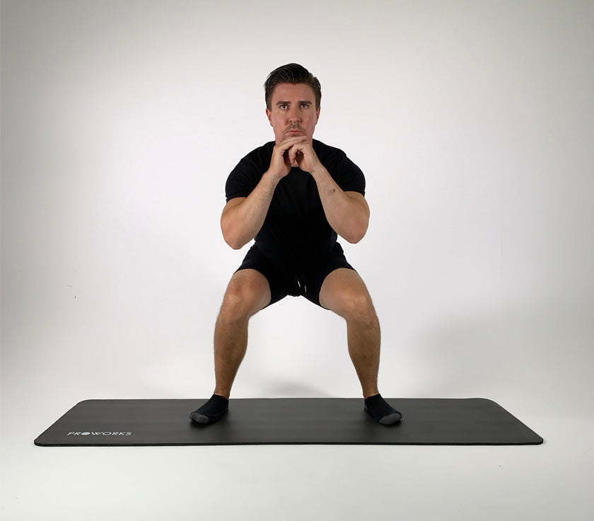 Step-Out Squat with Pulse Guide