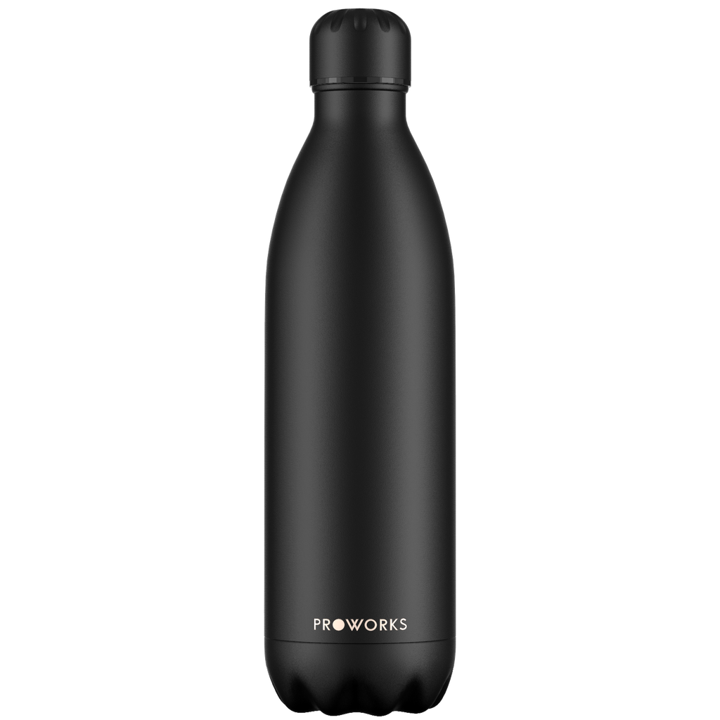 Proworks All Black 1L Water Bottle