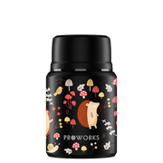 Proworks Black Hedgehog Food Flask 500ml