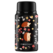 Proworks Black Hedgehog Food Flask 750ml