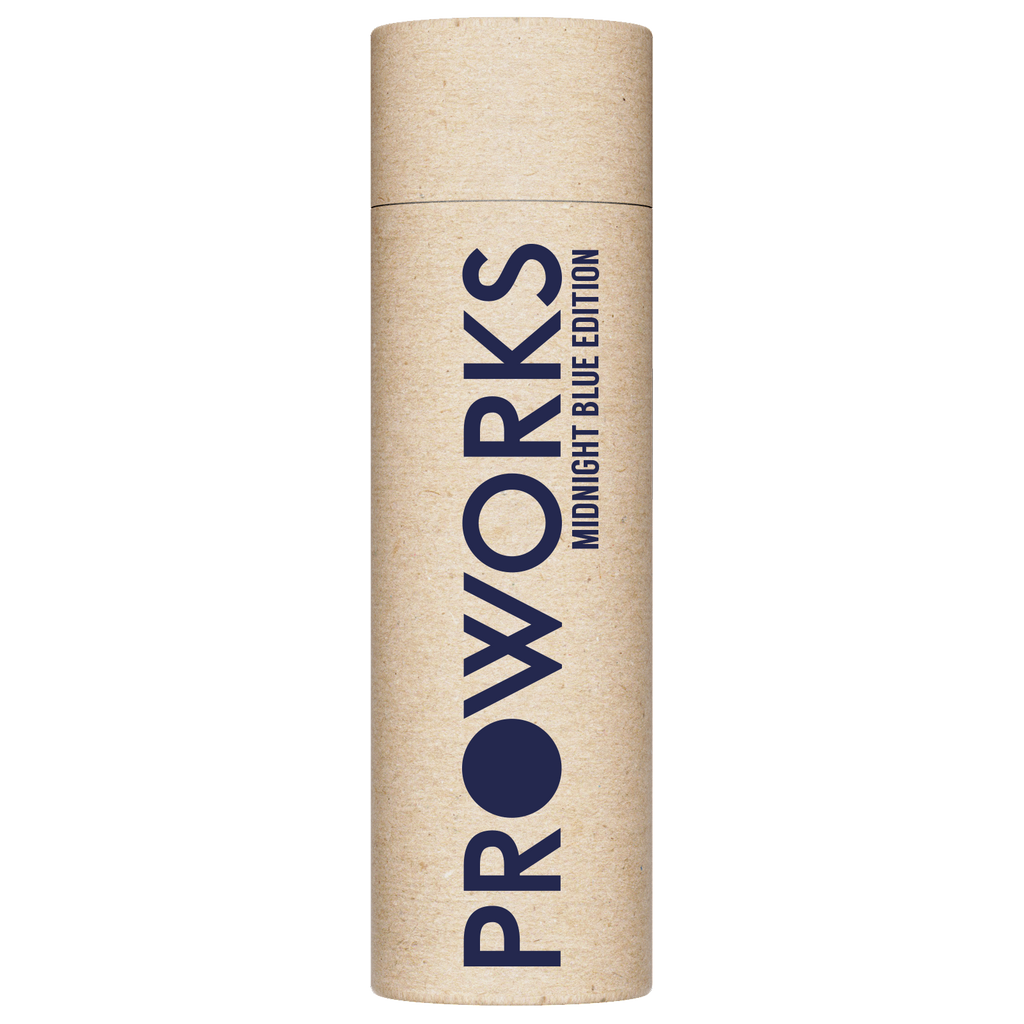 Proworks Midnight Blue 1L Water Bottle Packaging