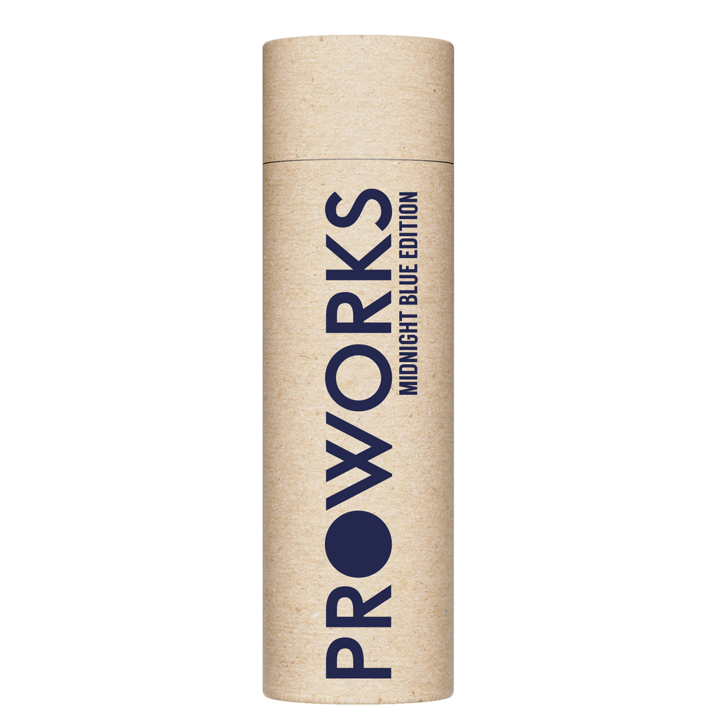 Proworks Midnight Blue 750ml Water Bottle Packaging