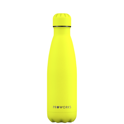 Proworks Lemon Sherbet Yellow 500ml Water Bottle