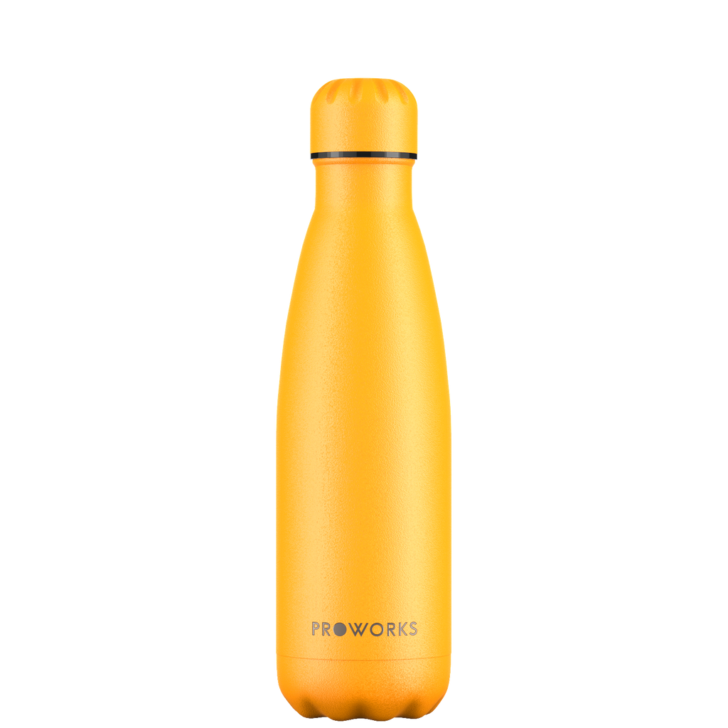 Proworks Mellow Yellow 500ml Water Bottle