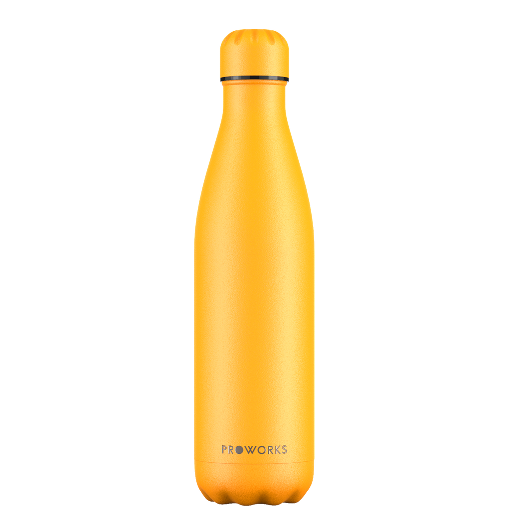 Proworks Mellow Yellow 750ml Water Bottle