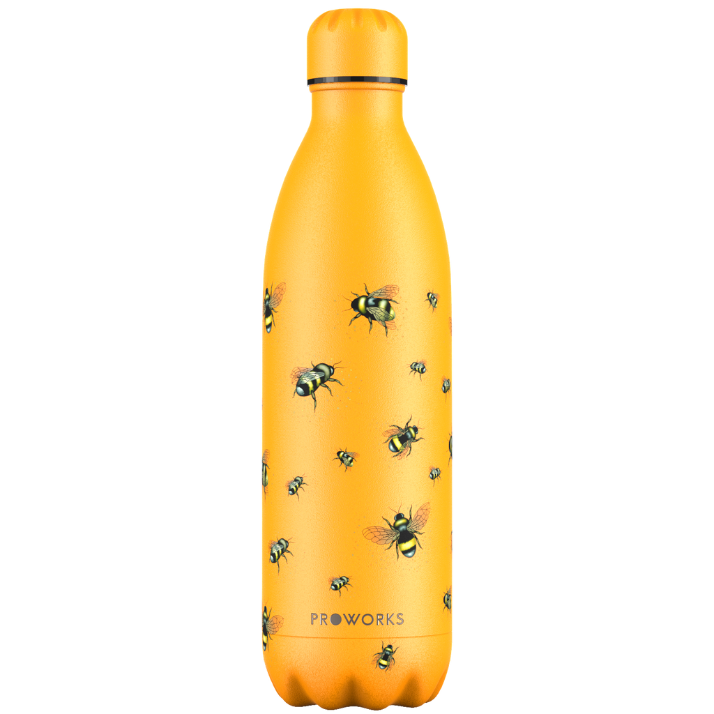 Proworks Mellow Yellow Bee 1L Water Bottle
