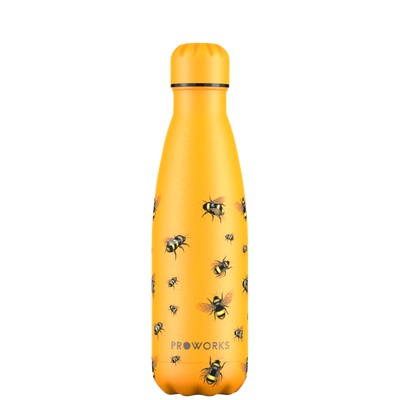 Proworks Mellow Yellow Bee 500ml Water Bottle