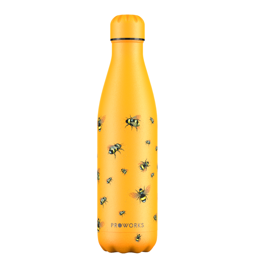 Proworks Mellow Yellow Bee 750ml Water Bottle