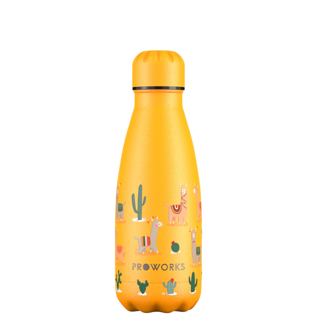 Proworks Llama and Cactus 350ml Water Bottle