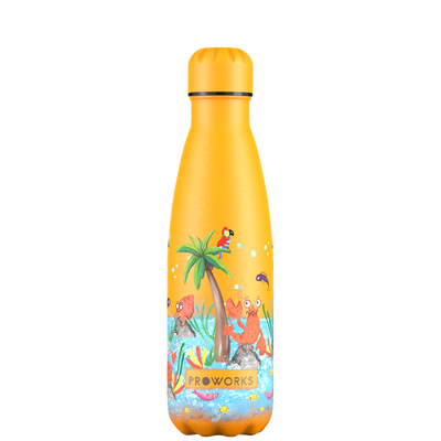 Proworks Mellow Yellow Tropical Edition 500ml Water Bottle