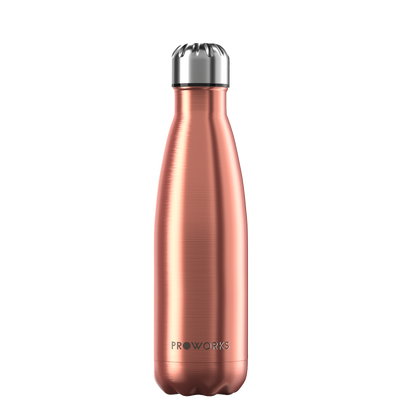 Proworks Metallic Copper 500ml Water Bottle