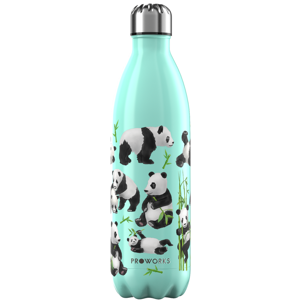 Proworks Green Panda 1L Water Bottle