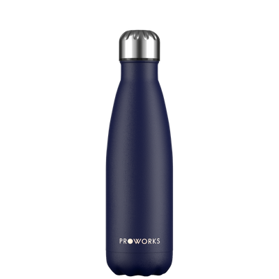 Proworks Midnight Blue 500ml Water Bottle