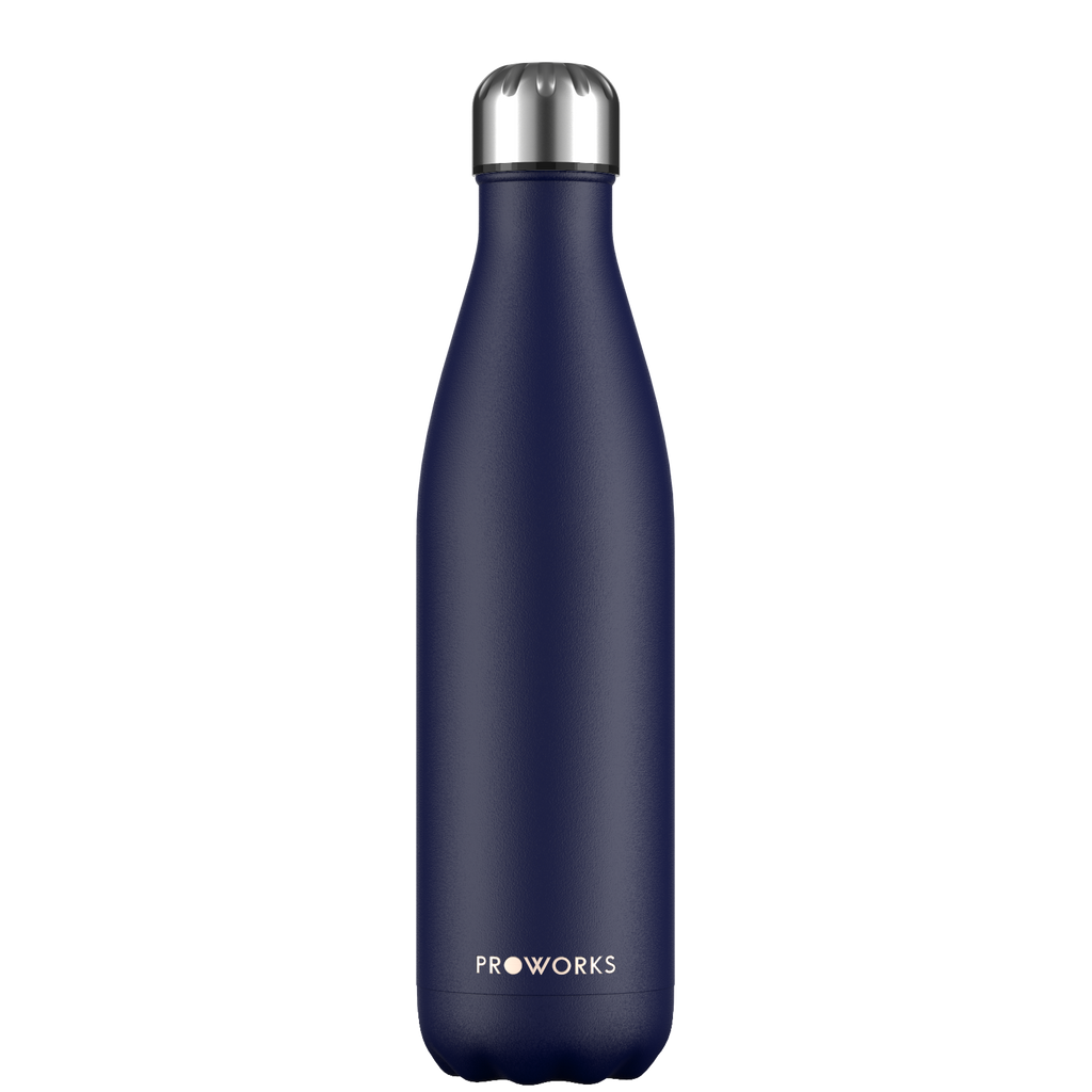 Proworks Midnight Blue 750ml Water Bottle