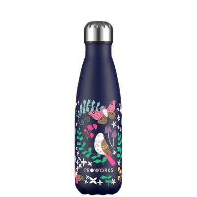 Proworks Midnight Blue Woodland Magic 500ml Water Bottle